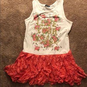 Girls summer dress or shirt
